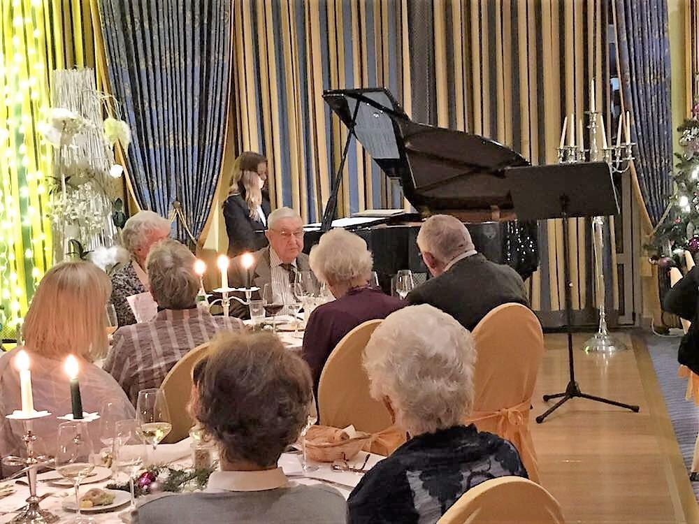 Diner mit Musik im Hotel Arkona in Binz